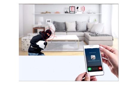 Bezpečnostní bezdrátová kamera Sannce