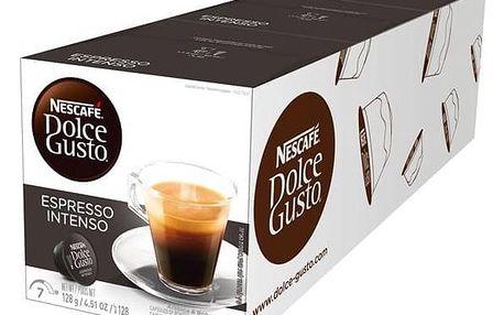 Kapsle pro espressa Nescafé Dolce Gusto Espresso Intenso 3 balení