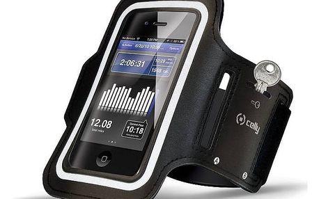 Pouzdro na mobil sportovní Celly Armband XXL (ARMBAND01) černé + Doprava zdarma