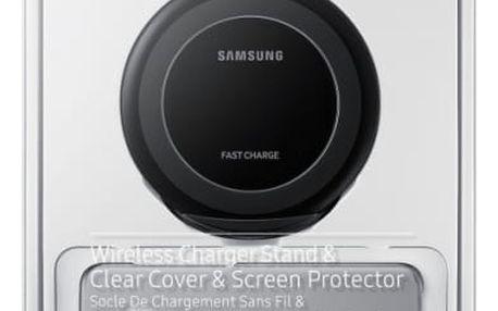 Sada pro bezdrátové nabíjení Samsung Dream Kit pro Galaxy S8 - černá (EP-WG95BBBEGWW) černý