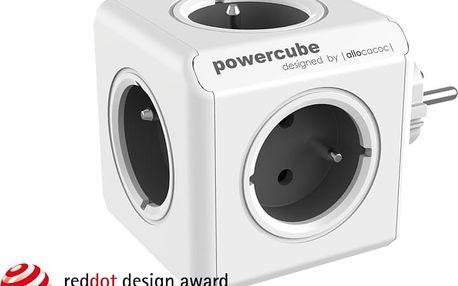 PowerCube ORIGINAL rozbočka-5ti zásuvka, šedá