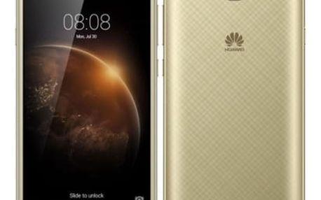 Mobilní telefon Huawei Y6 II Compact Dual SIM (SP-Y6IICDSGOM) zlatý