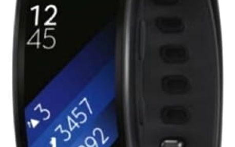Fitness náramek Samsung Gear Fit2 vel. L (SM-R3600DAAXEZ) šedý
