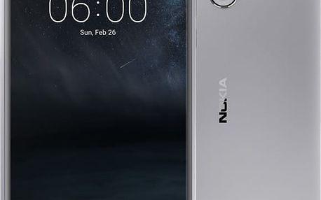 Nokia 6, Dual Sim, stříbrno/bílá