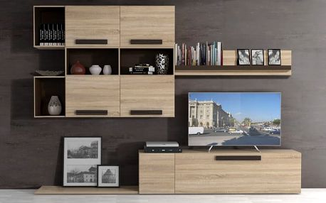 Moderní obývací stěna Latis