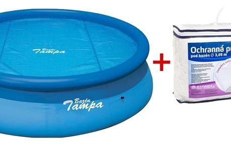 Marimex Podložka a solární plachta pro bazén Tampa 3,05 m. - 19900010