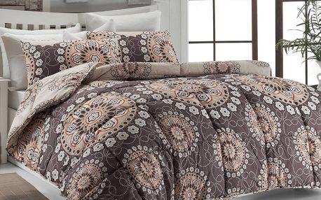 Eponj Home Prošívaný přehoz přes postel/přikrývka 143EPJ9938