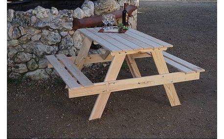Zahradní nábytek Rojaplast Piknik dřevo Zahradní gril kulatý SportTeam 35cm