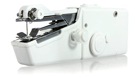 Přenosný a cestovní šicí stroj do ruky