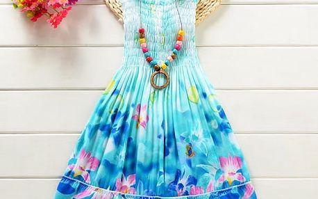 Plážové dívčí šatičky s náhrdelníkem - 14 variant