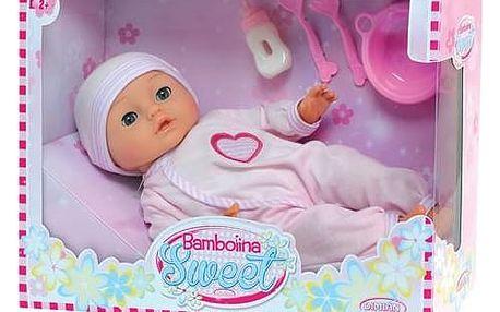 Panenka Bamboline Sweet s 50 českými slovy