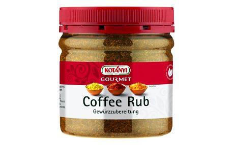 Coffee Rub Kotányi 205 g