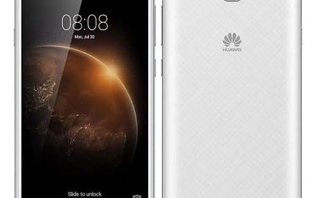 Mobilní telefon Huawei Y6 II Compact Dual SIM (SP-Y6IICDSWOM) bílý
