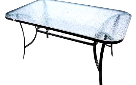 Garthen 1650 Moderní zahradní skleněný stůl