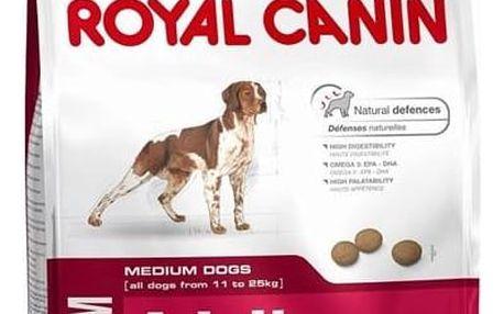 Granule Royal Canin Medium Adult 15 kg + Doprava zdarma