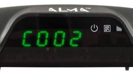 ALMA DVB-T2 HD přijímač 2760 s displejem
