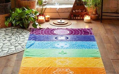Exotický plážový šátek - 2 varianty