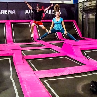 Jump Arena Zličín: trampolíny a další atrakce
