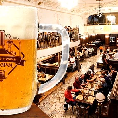 2 až 3denní pobyt pro dva s konzumací piva v hotelu Monopol**** v Teplicích