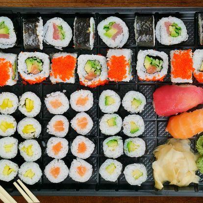 Asie v obýváku: rozvoz sushi po Ostravě