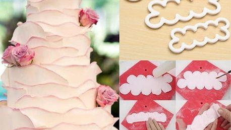 Pomůcka na tvarování cukrářských růží