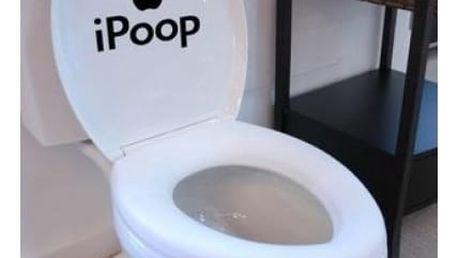 Samolepka na WC prkénko pro vtipálky!