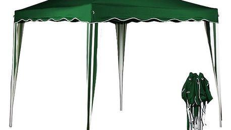 Zahradní altán 3x3m zelený SH05Z Dekorhome