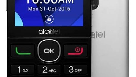 Mobilní telefon ALCATEL 2008G (2008G-3BALCZ1) černý/stříbrný