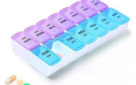 Týdenní dávkovač léků - dodání do 2 dnů