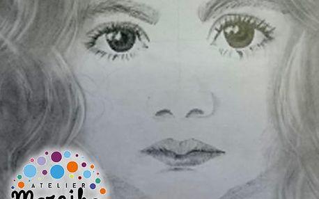 Víkendové kurzy kreslení pastelkou, tužkou, křídou, rudkou nebo na plátno po celé ČR,