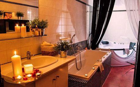 4* dovolená v luxusním Parkhotelu Morris Nový Bor s wellness a polopenzí i procedurami
