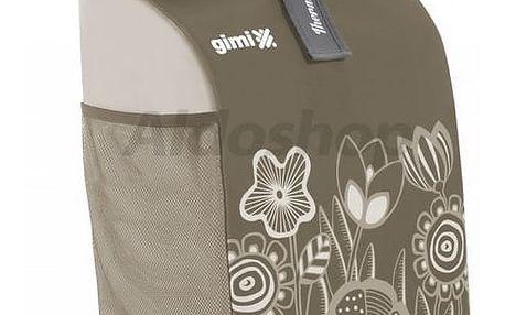 Nákupní taška na kolečkách Rolling Thermo hnědá