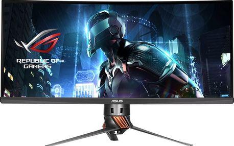 """ASUS PG348Q - LED monitor 34"""" - 90LM02A0-B01370 + Sluchátka Asus Cerberus iCafe v hodnetě 1399,- k LCD Asus zdarma"""