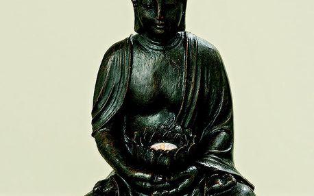 LED svícen Boltze Budhha