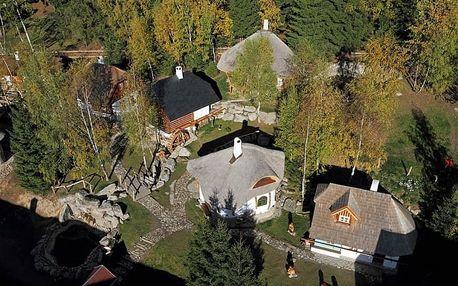Wellness pohoda v Hotelu Podlesí s prohlídkou Pohádkové vesničky