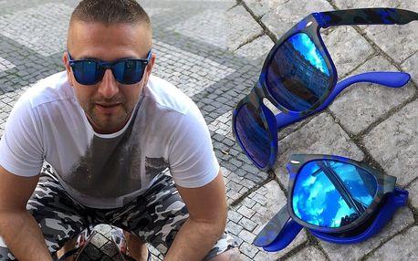 Skládací sluneční brýle Wayfarer army style