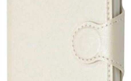 Pouzdro na mobil flipové FIXED pro Lenovo Vibe P1 (FIXBC-065-WH) bílé