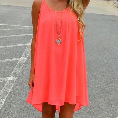 Volné letní šatičky pro dámy - 2 barvy