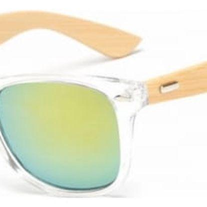 Stylové sluneční brýle s dřevěnými pacičkami - 16 druhů