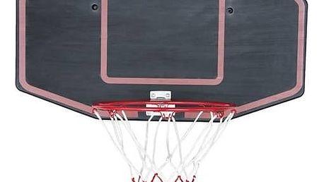 Basketbalová deska Master s deskou 71 x 45 cm černá