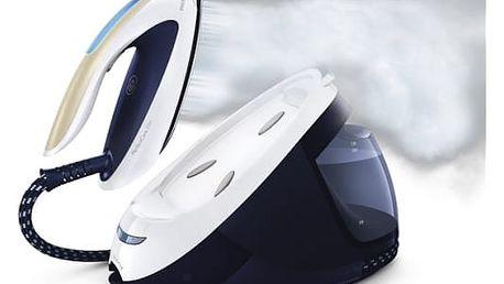 Žehlička Philips PerfectCare Elite GC9630/20 modrá + dárek