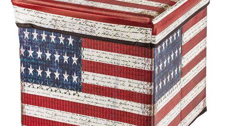 Skládací sedací box America