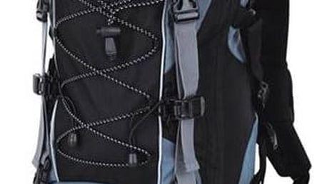 Batoh turistický Loap Eiger 50+10 l šedý/modrý
