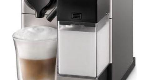 Espresso DeLonghi Nespresso Lattissima Touch EN550.S stříbrné