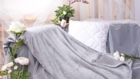 XPOSE ® Deka mikrovlákno - světle šedá 150x200 cm