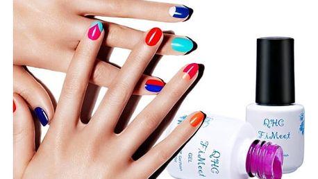 Barevný dlouhotrvající lak na nehty - 29 barev