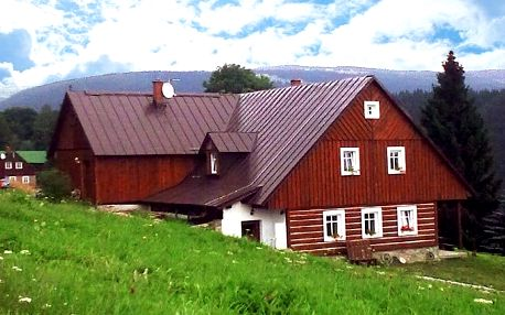 3–5denní pobyt v horské chalupě Strážné 231 pro 2 + 2 děti do 10 let v Krkonoších