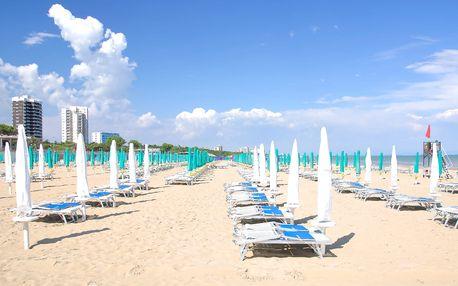 1denní koupání u moře v italském Lignanu