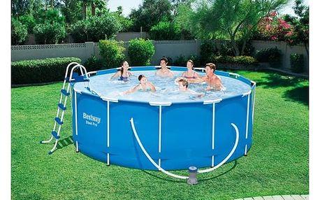 BESTWAY Rodinný bazén s konstrukcí 366 x 122 cm SADA