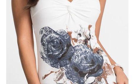 Dámské tričko s květinovým potiskem Gracie